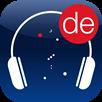 """Ein Kopfhörer mit Sternen: Icon der App """"AudioHimmelsführungen"""""""