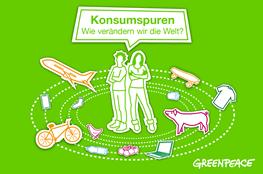 "digitales Bildungsmaterial ""Konsumspuren"" von Greenpeace"