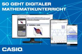 Digitale Angebote von CASIO für Lehrkräfte von Naturwissenschaften
