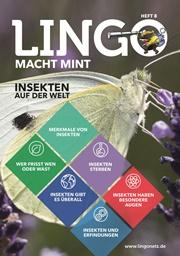 Neues Heft für Lingo macht MINT: Insekten auf der Welt