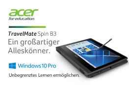 Acer Laptop für Ihren Unterricht