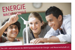 Logo von Energie macht Schule zum Thema erneuerbare Energien