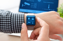 Smart Watch steuert smart Home
