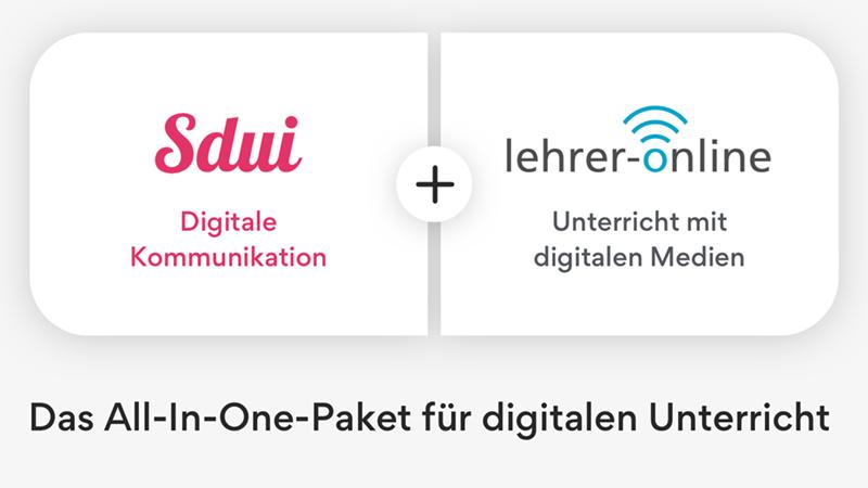 Lehrer-Online und Sdui: All-In-One-Paket für den digitalen Unterricht