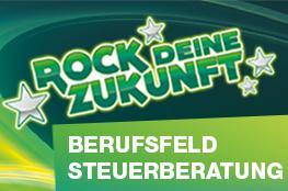 Logo Rock deine Zukunft Berufsfeld Steuerberatung