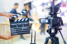 Videoproduktion mit Kamera im Unterricht