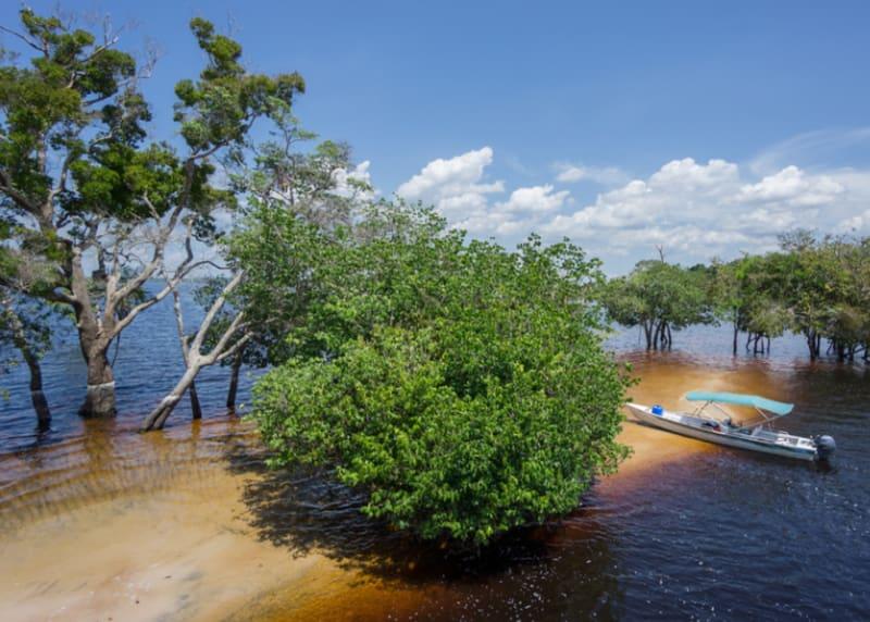 Sinkende Inseln