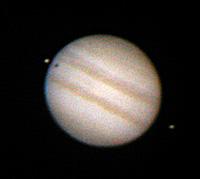 Jupiter mit Io und Europa