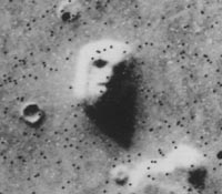 """Marsgesicht"", NASA"