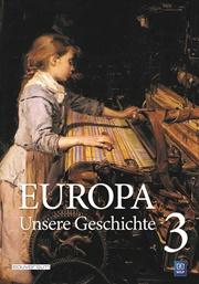 Europa - Unsere Geschichte Band 3 Cover