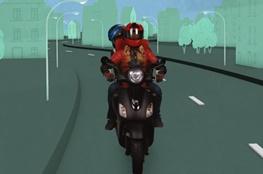 Motorradfahrende