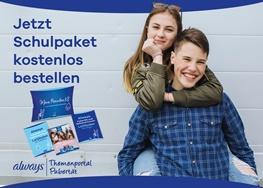 Always Schulpakete: Mädchen, Junge, Bilder von Broschüren