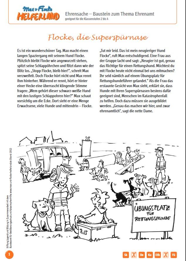 Arbeitsblatt: Ehrensache Ehrenamt - Grundschule - Lehrer-Online