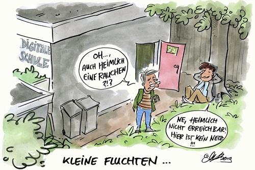 Kleine Fluchten - Michael Hüter