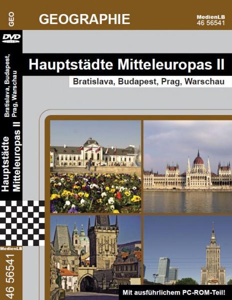 Hauptstädte Mitteleuropas II - Bratislava, Budapest, Prag, Warschau
