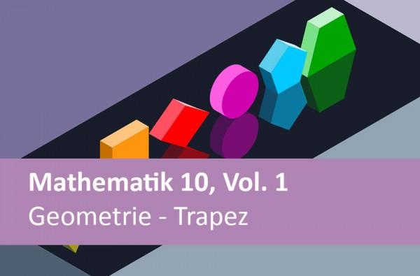 Interaktives Arbeitsheft Mathematik Geometrie u. Trapez 10.