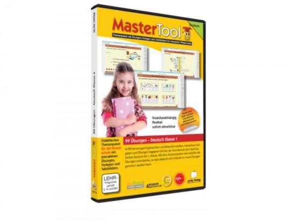 MasterTool - 99 Übungen für die Grundschule: Deutsch Klasse 1 (139)