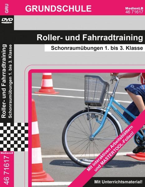 Roller- und Fahrradtraining - Schonraumübungen 1. bis 3. Klasse