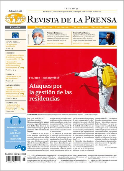 Revista de la Prensa Jahresabo