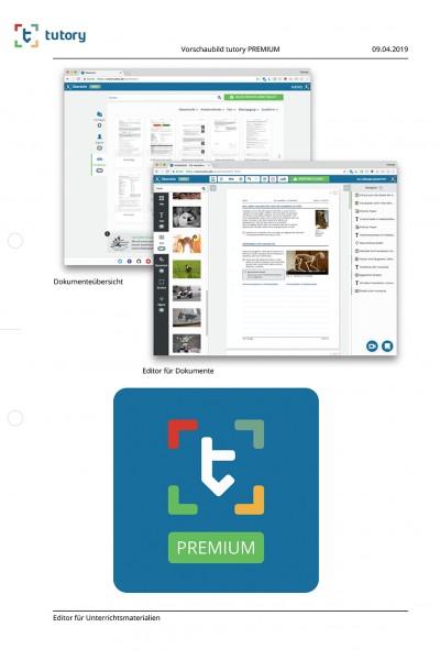 tutory-PREMIUM Einfach Arbeitsblätter online erstellen