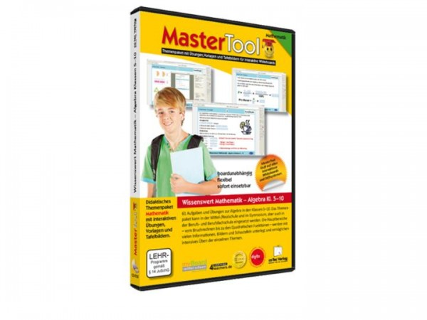 MasterTool - Wissenswert Mathematik - Algebra Klasse 5 - 10 (126)