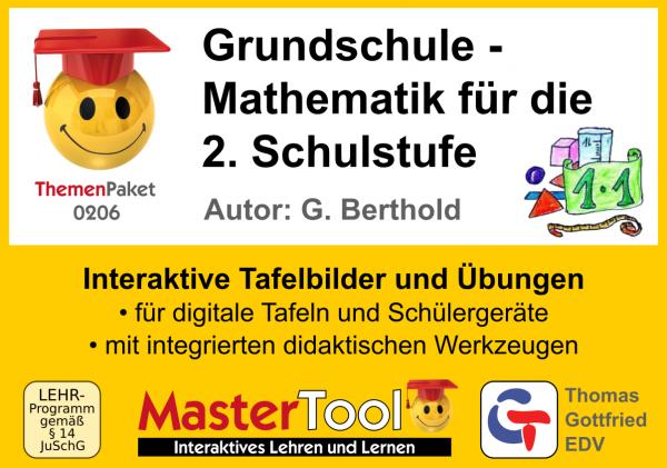 MasterTool - Grundschule - Mathematik für die 2. Schulstufe (TP 206)