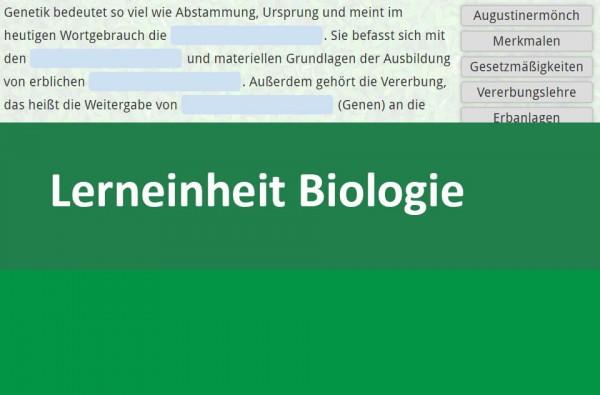 Interaktive Lerneinheit Biologie Grundlagen Genetik 8
