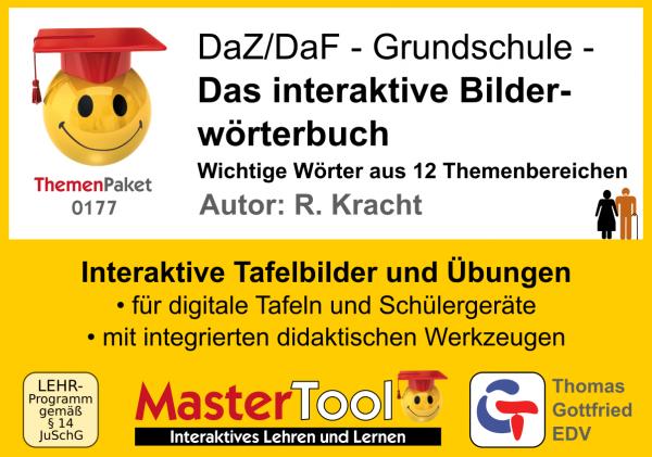 MasterTool - DaZ/DaF - Das Interaktive Bildwörterbuch (TP 177)