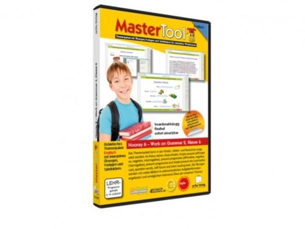 MasterTool - Englisch - Hooray 6 - Work on Grammar 2 - Klasse 6 (150)