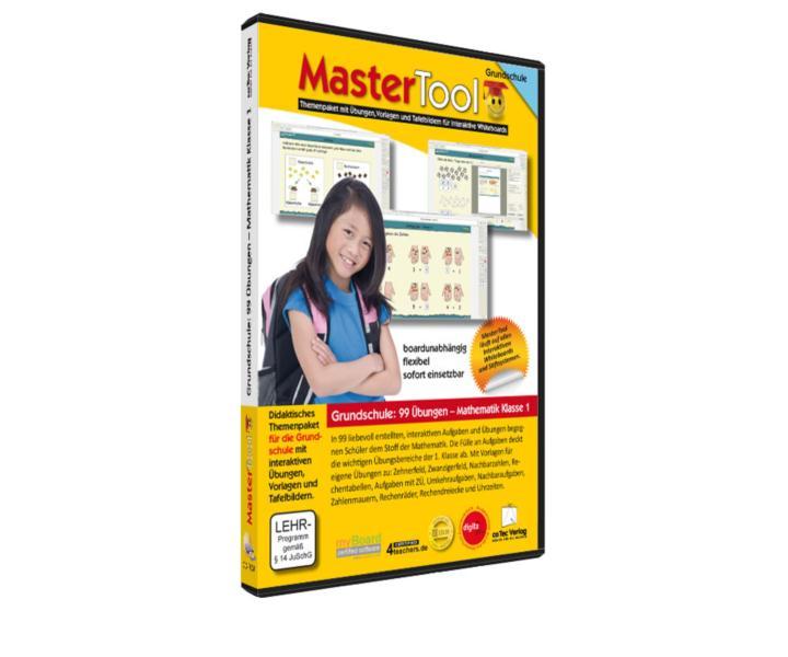 MasterTool - 99 Übungen für die Grundschule: 99 Übungen Mathematik Klasse 1 (118)