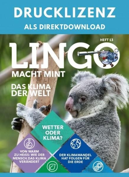 Lingo macht MINT Drucklizenz 13 Das Klima der Welt