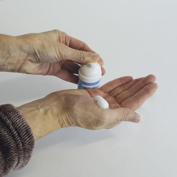 Hand-Desinfektions-Schaum, im Spender, 50 ml, ohne Alkohol