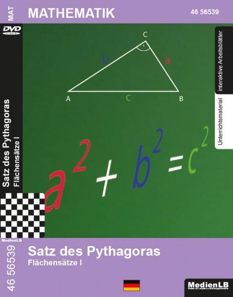 Satz des Pythagoras - Flächensätze I