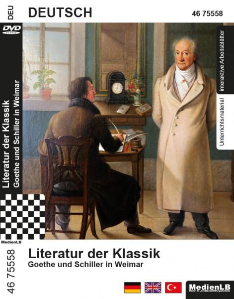 Literatur der Klassik - Goethe und Schiller in Weimar