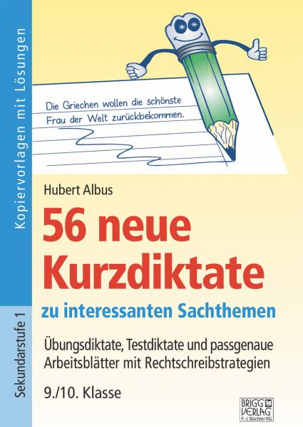 56 neue Kurzdiktate 9./10. Klasse Print oder E-Book