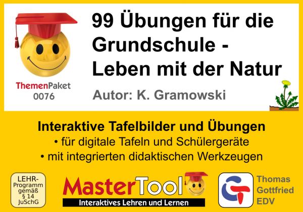 MasterTool - 99 Übungen für die Grundschule - Leben mit der Natur (TP 76)