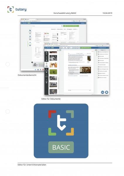 tutory-BASIC - Arbeitsblätter online erstellen