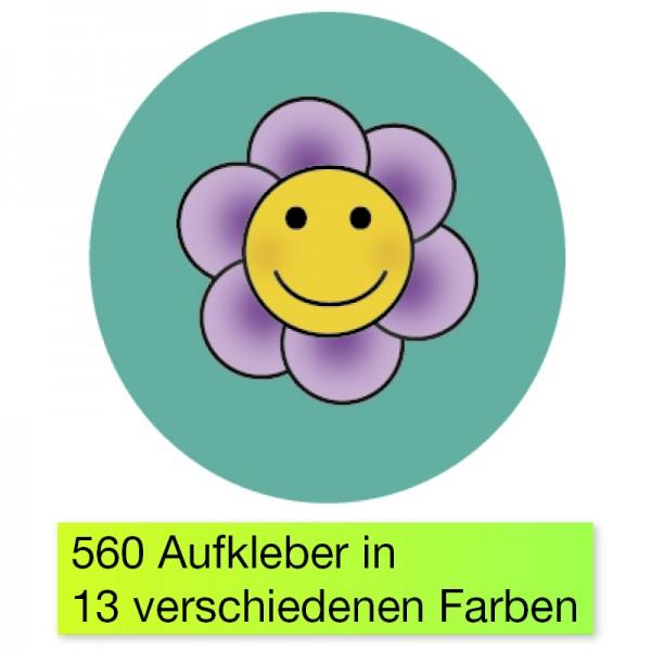 """Belobigungs-Aufkleber """"Blümchen bunt"""", 352 Stk."""