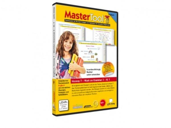 MasterTool - Englisch - Hooray 7 - Work on Grammar 3 - Klasse 7 (160)