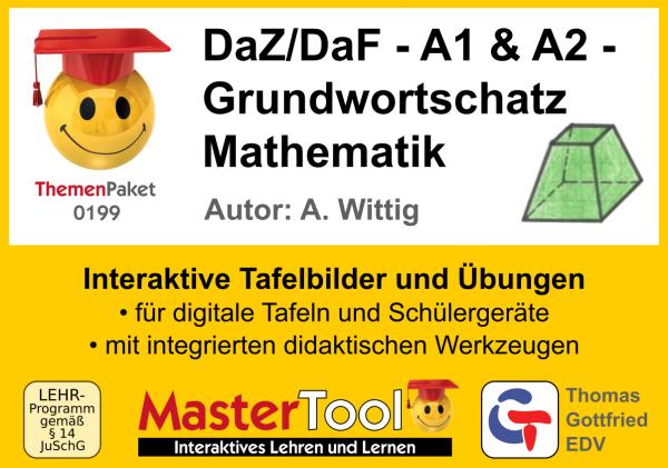 MasterTool - DaZ/DaF - Grundwortschatz Mathematik - A1 und A2 (TP 199)