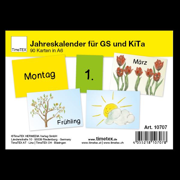 Jahreskalender für Grundschule und Kita