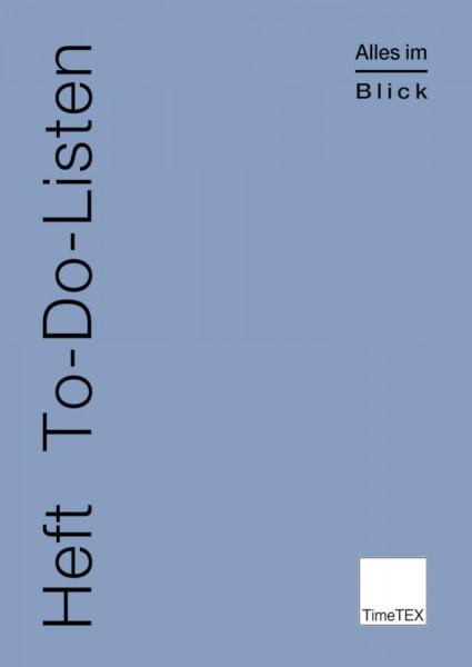 Heft To-Do-Listen A4, 32 Seiten