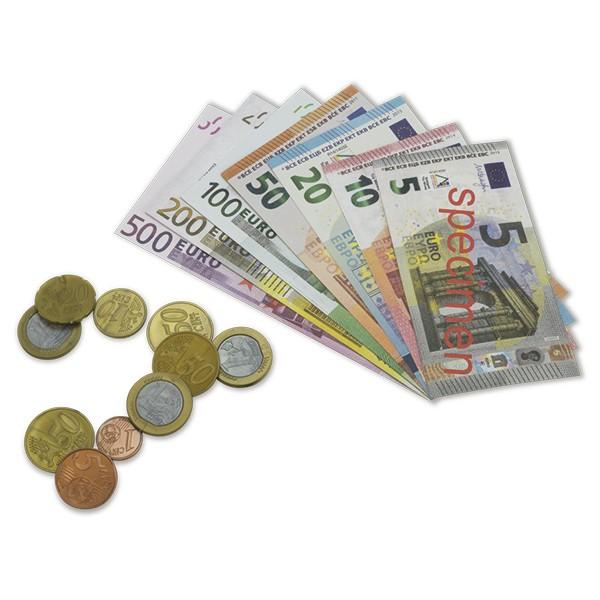 Set Euro-Rechengeld im Koffer, 290-tlg.