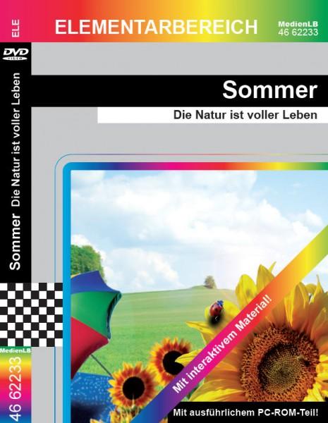 Sommer - Die Natur ist voller Leben: DVD mit Unterrichtsmaterial, interaktiven Übungen
