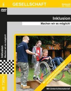 Inklusion: DVD mit Unterrichtsmaterial, interaktiven Übungen-