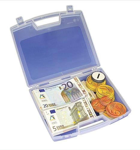 Set Demo-Euro-Rechengeld, magnetisch, 100-tlg. im Koffer
