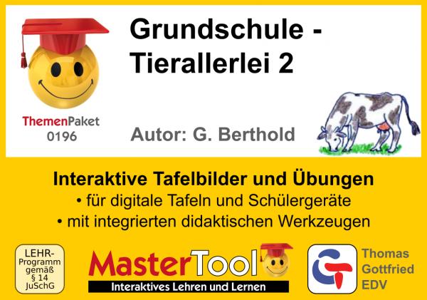 MasterTool - Grundschule - Tierallerlei 2 (TP 196)