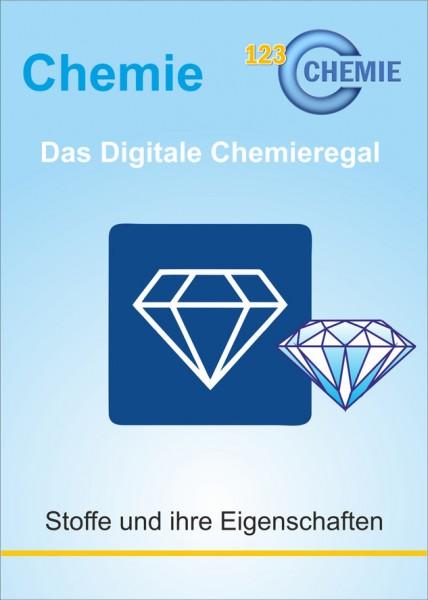 Digitales Chemieregal: Stoffe und ihre Eigenschaften