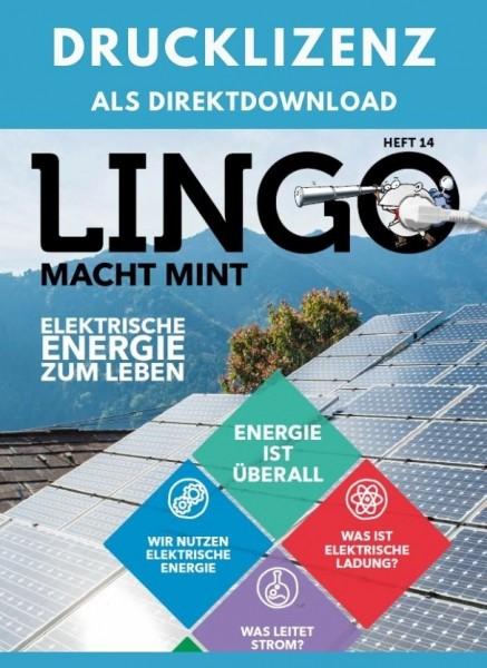 Lingo macht MINT Drucklizenz 14 Elektrische Energie zum Leben
