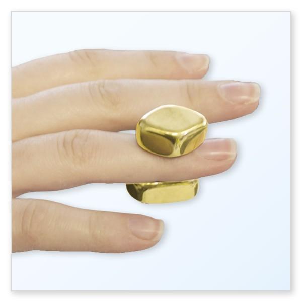 Magnetische Gold-Nuggets, ca. 20 Stück